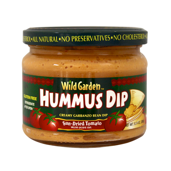 Roasted Sun-Dried Tomato Hummus Dip