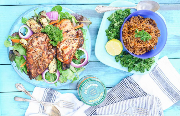 Wild Garden: Persian Grilled Chicken & Zucchini