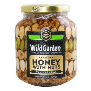 Wild Garden Honey with Nuts
