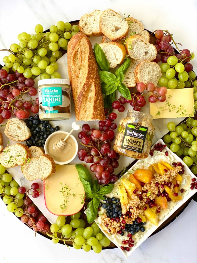 Ricotta Cheese Dip with Fresh Fruits and Honey Nut-02