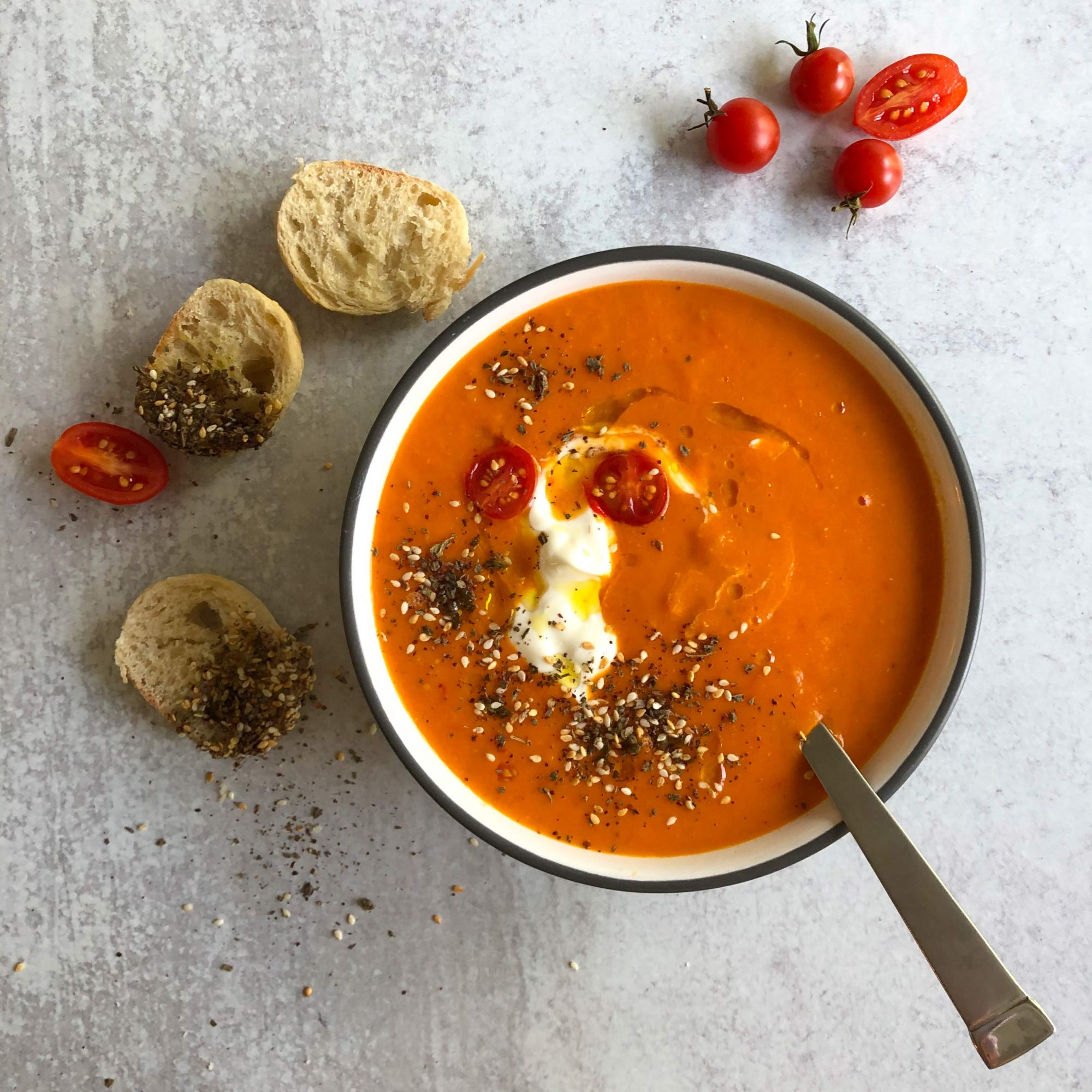 Tomato-Soup-with-Za_atar-Dukkah-Croutons-1